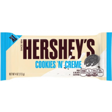 HERSHEY'S XL COOKIES AND CREAM 113GR